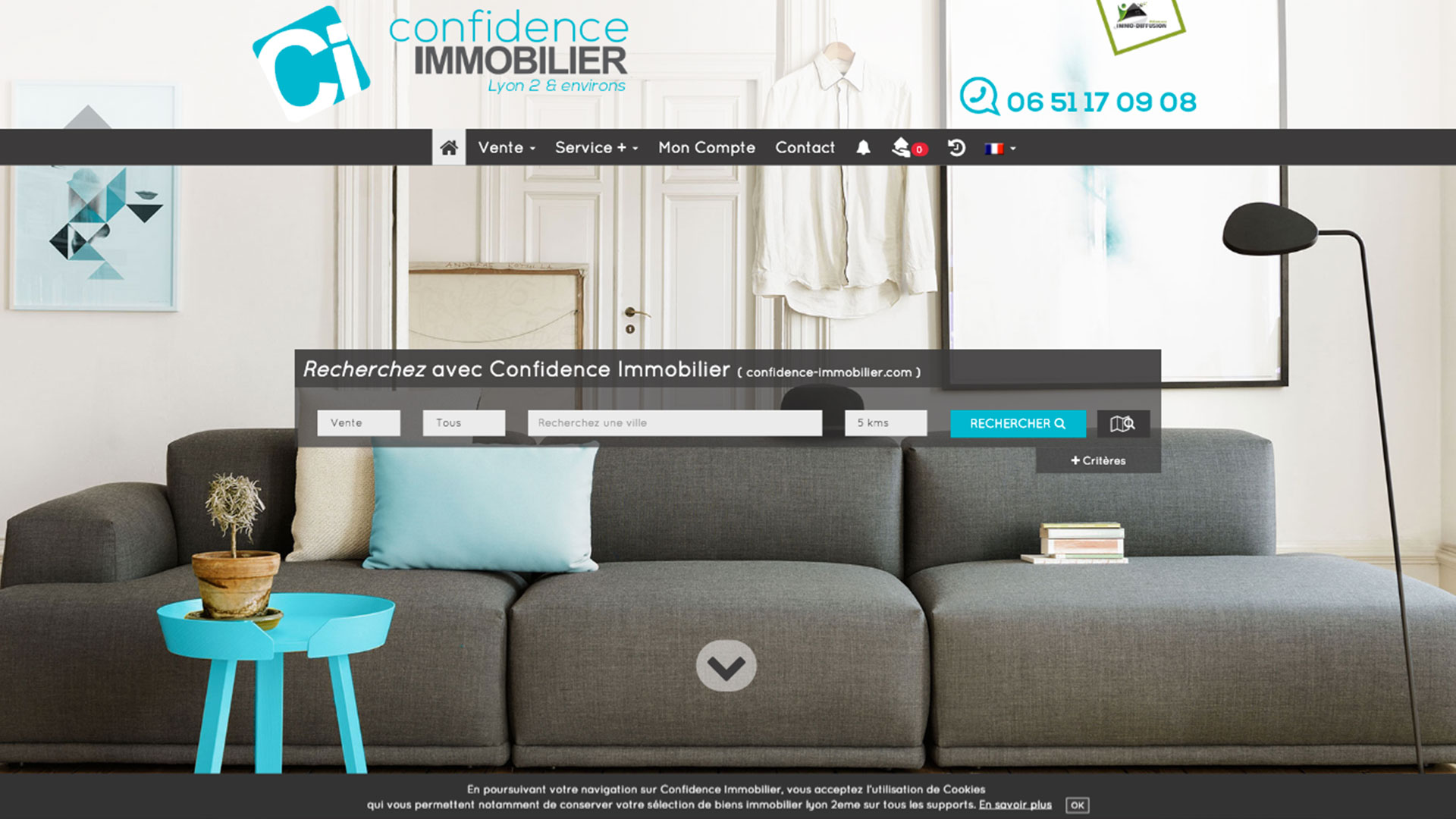 CONFIDENCE IMMOBILIER
